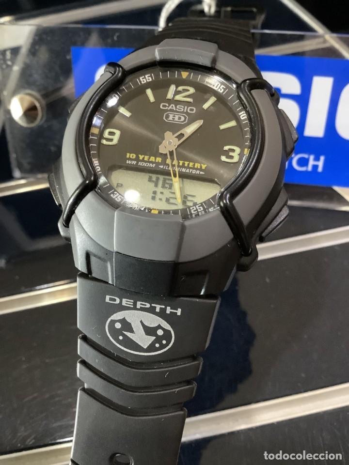 RELOJ CASIO HDC 600 BLACK ¡¡ BATERIA DE 10 AÑOS !! VINTAGE ¡¡ AÑOS 90 !! - ¡¡¡¡NUEVO!!!! (Relojes - Relojes Actuales - Casio)