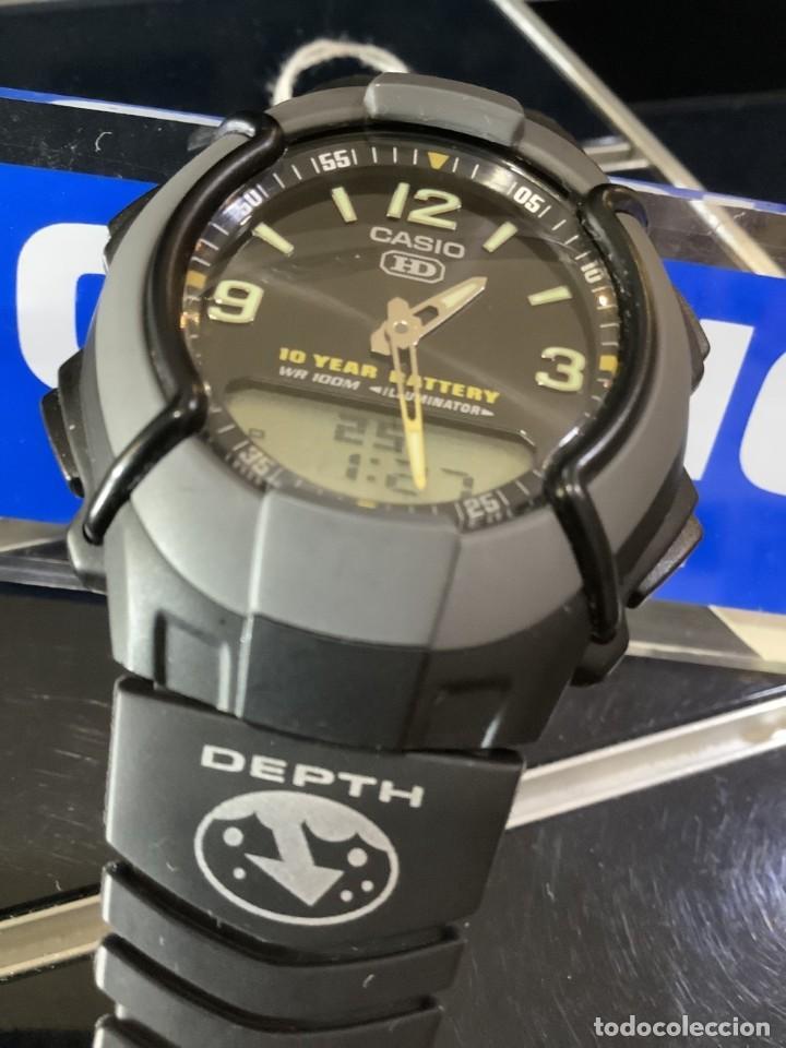Relojes - Casio: RELOJ CASIO HDC 600 BLACK ¡¡ BATERIA DE 10 AÑOS !! VINTAGE ¡¡ AÑOS 90 !! - ¡¡¡¡NUEVO!!!! - Foto 3 - 128678471