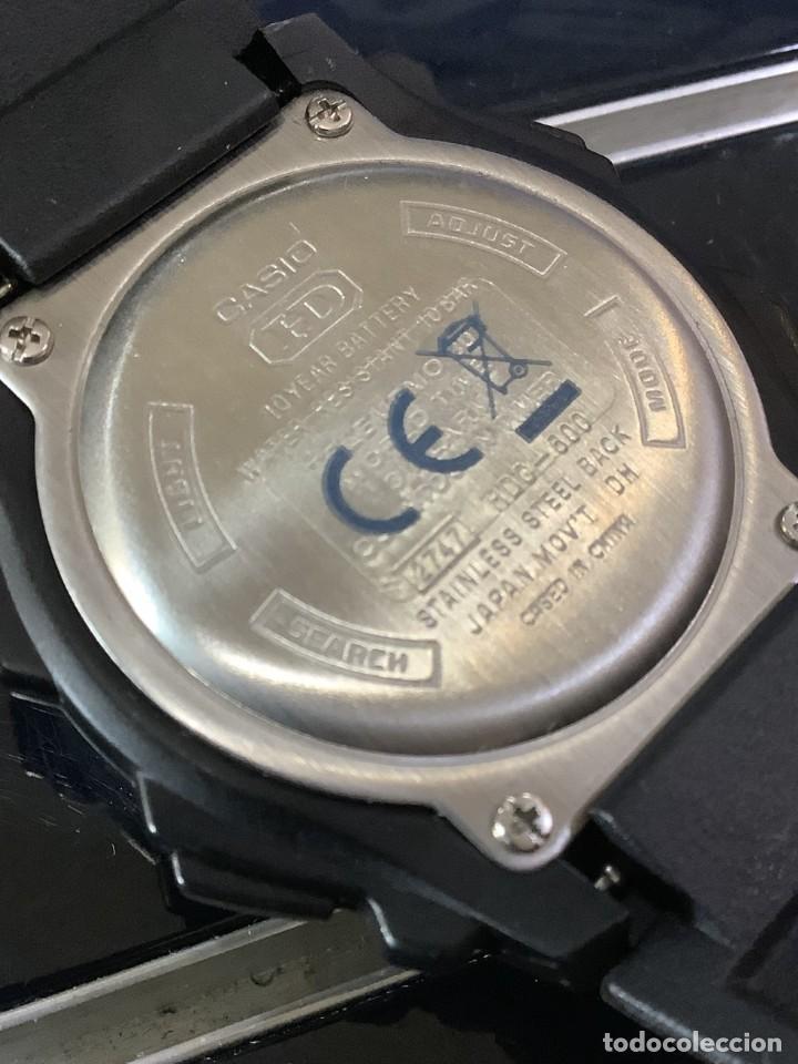 Relojes - Casio: RELOJ CASIO HDC 600 BLACK ¡¡ BATERIA DE 10 AÑOS !! VINTAGE ¡¡ AÑOS 90 !! - ¡¡¡¡NUEVO!!!! - Foto 6 - 128678471