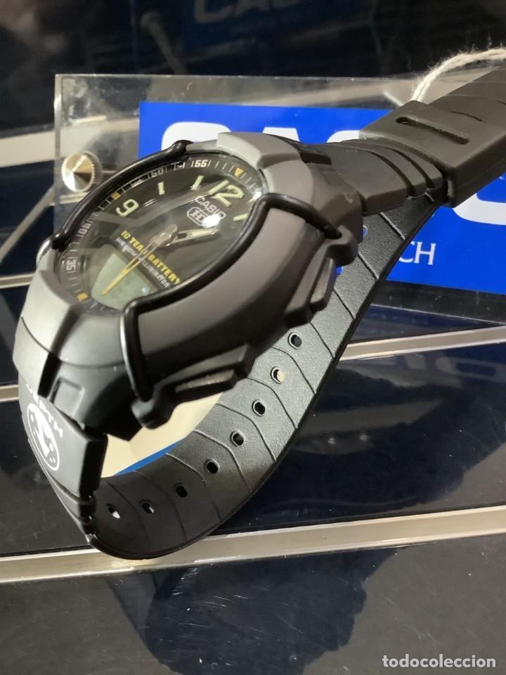 Relojes - Casio: RELOJ CASIO HDC 600 BLACK ¡¡ BATERIA DE 10 AÑOS !! VINTAGE ¡¡ AÑOS 90 !! - ¡¡¡¡NUEVO!!!! - Foto 2 - 128678471