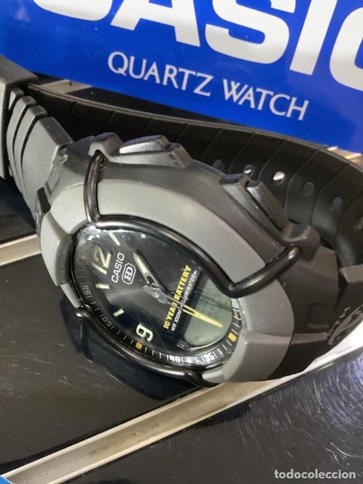 Relojes - Casio: RELOJ CASIO HDC 600 BLACK ¡¡ BATERIA DE 10 AÑOS !! VINTAGE ¡¡ AÑOS 90 !! - ¡¡¡¡NUEVO!!!! - Foto 4 - 128678471