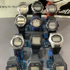 Relojes - Casio: ¡¡ 12 RELOJES CASIO VINTAGE ¡¡ LOTE S ¡¡ DEFECTUOSOS !! (VER FOTOS). Lote 275944168