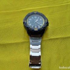Relojes - Casio: RELOJ CASIO DOBLE CALENDARIO. Lote 276197468