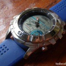Relojes - Casio: RELOJ CASIO PESCA AMW706 FISHING GEAR FUNCIONANDO LEER. Lote 277424453
