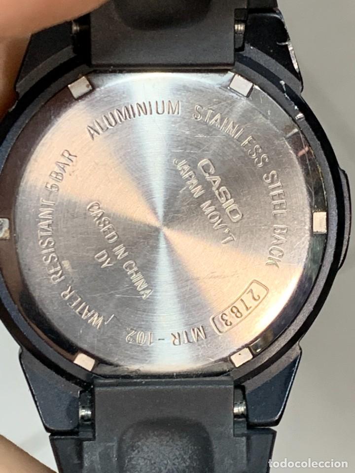 Relojes - Casio: RELOJ CASIO CASED IN CHINA 2783 MTR-102 ALUMINIO PVC 40MM - Foto 3 - 277638568