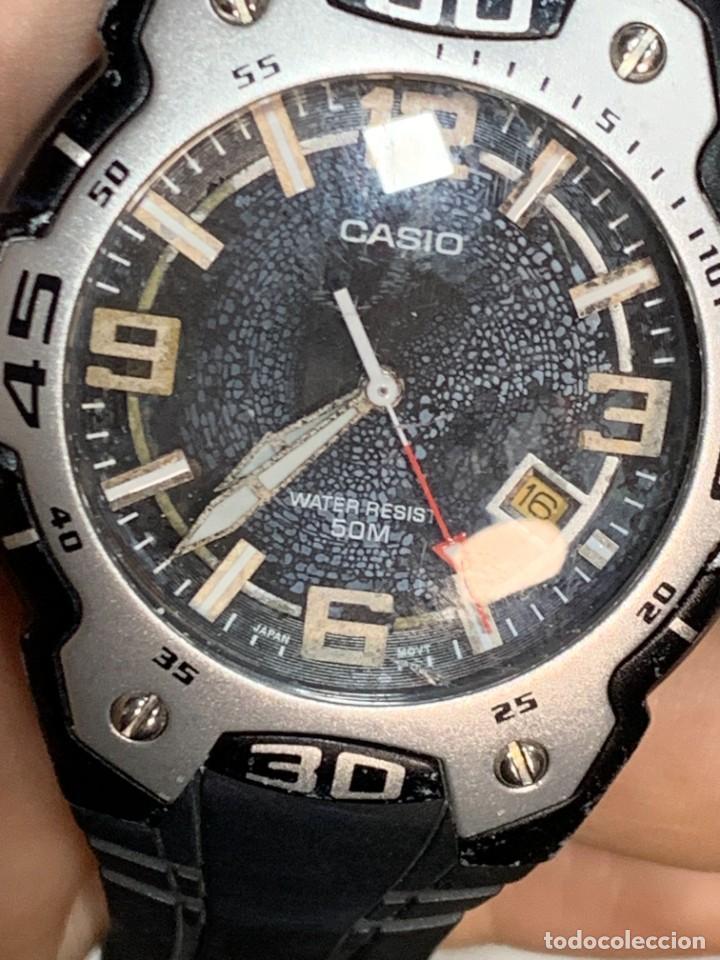 Relojes - Casio: RELOJ CASIO CASED IN CHINA 2783 MTR-102 ALUMINIO PVC 40MM - Foto 4 - 277638568