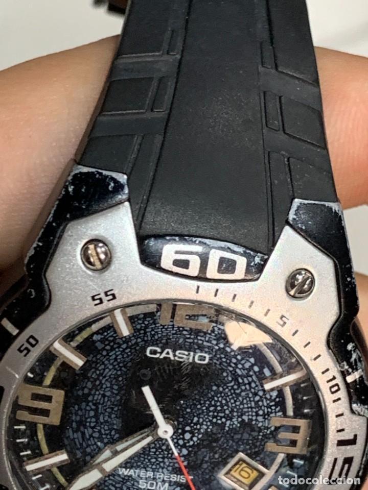 Relojes - Casio: RELOJ CASIO CASED IN CHINA 2783 MTR-102 ALUMINIO PVC 40MM - Foto 5 - 277638568