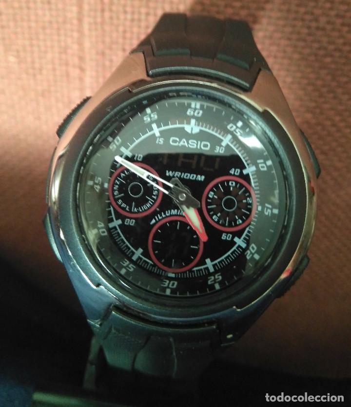 CASIO ANA-DIGI AQ-163W-1B2VDF. EN PERFECTO ESTADO (Relojes - Relojes Actuales - Casio)