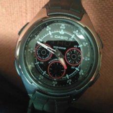 Relojes - Casio: CASIO ANA-DIGI AQ-163W-1B2VDF. EN PERFECTO ESTADO. Lote 278419108