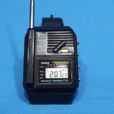 Relojes - Casio: RELOJ CASIO TM 100 MOD. 661. FM - VOICE TRANSMITTER + MANUAL. MADE IN JAPAN. Lote 282231138