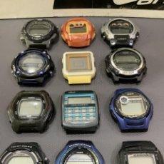 Relojes - Casio: ¡¡ 12 RELOJES CASIO VINTAGE !! LOTE K ¡¡DEFECTUOSOS!! ¡¡ (VER FOTOS). Lote 284421138