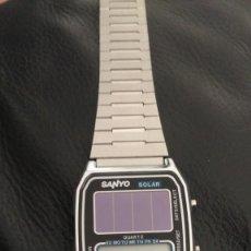 Relojes - Casio: RELOJ SANYO DIGITAL SOLAR MUY RARO AÑOS 70 NUEVO A ESTRENAR. Lote 284458463