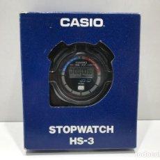 Montres - Casio: CRONÓMETRO CASIO MODELO STOPWATCH HS-3 A ESTRENAR. Lote 284672858