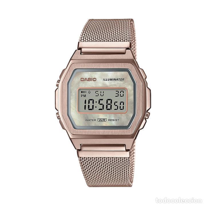 RELOJ CASIO VINTAGE ICONIC A1000MCG-9EF ROSA, ROJO/ROSA (Relojes - Relojes Actuales - Casio)