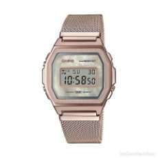 Relojes - Casio: RELOJ CASIO VINTAGE ICONIC A1000MCG-9EF ROSA, ROJO/ROSA. Lote 288011358