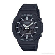 Relojes - Casio: RELOJ CASIO G-SHOCK CLASSIC GA-2100-1AER NEGRO. Lote 288016768