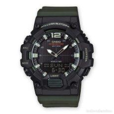 Relojes - Casio: RELOJ CASIO COLLECTION HDC-700-3AVEF NEGRO/VERDE. Lote 288017628