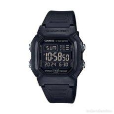 Relojes - Casio: RELOJ CASIO COLLECTION MEN W-800H-1BVES NEGRO. Lote 288017943