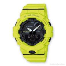 Relojes - Casio: RELOJ CASIO G-SHOCK G-SQUAD GBA-800-9AER AMARILLO FLUOR. Lote 288018523