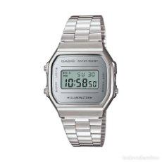 Relojes - Casio: RELOJ CASIO VINTAGE ICONIC 168-WEM-7EF GRIS. Lote 288018938