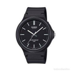 Relojes - Casio: RELOJ CASIO COLLECTION MEN MW-240-1EVEF NEGRO. Lote 288019718