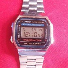Relógios Casio: RELOJ CASIO ALARMA ELECTRO LUMINESCEENCE FUNCIONA. MIDE 35 MM DIAMETRO. Lote 288154128