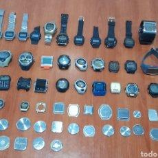 Relojes - Casio: 36 RELOJES DIGITALES ANTIGUOS DE COLECCIÓN. VER FOTOS Y DESCRIPCIÓN.. Lote 288220593
