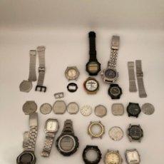 Relojes - Casio: LOTE RELOJES CASIO 15 RELOJES. Lote 290016438