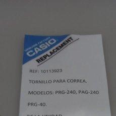 Relojes - Casio: CASIO PROTREK, REPUESTO TORNILLO DE CORREA, PTR-240 , PAG-240 , PRT-40. Lote 290114268