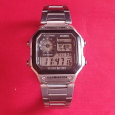 Orologi - Casio: RELOJ CASIO WORLD TIME ILUMINATOR FUNCIONA.MIDE 41.5 MM. Lote 290361598