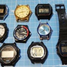 Relojes - Casio: LOTE RELOJES CASIO. Lote 292131668