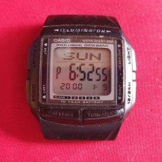 Relojes - Casio: RELOJ CASIO ILLUMINATOR FUNCIONA. MIDE 33 MM DIAMETRO. Lote 293567208