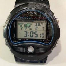 Relojes - Casio: RELOJ CASIO TS 100 ¡¡ TERMOMETRO !! AÑO 1989 (VER FOTOS). Lote 294088108