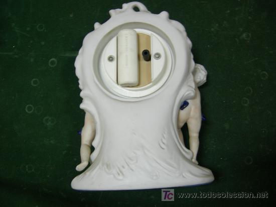 Relojes - Citizen: reloj de sobremesa en porcelana policromada, cuarzo citizen crystron, bateria de 1,5v funcionando - Foto 2 - 27529528