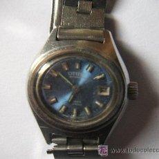 Relojes - Citizen: CITIZEN , ACERO -17 RUBIES.TODO ORIGINAL, AÑO 1972, NUMERADO. AUTOMATICO (FALLA:ADELANTA). Lote 27395814