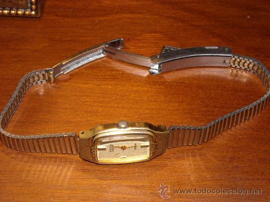 Relojes - Citizen: reloj citizen de pulsera baño oro, señora, ´,moderno y actual,funciona perfectamente - Foto 4 - 26401409