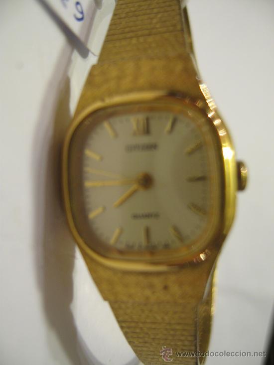 b39126667fe0 Reloj Citizen . Quartz - dorado - de mujer - correa con cadena de  seguridad