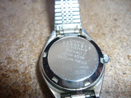 ef9bd9b37f7d1 Relojes - Citizen  EXPLENDIDO RELOJ CITIZEN DE MUJER 21 JEWELS AUTOMATICO  Nº SS 81261051 GN