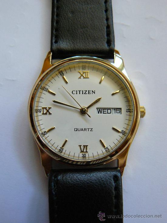 4e1f9522ddb6 Precioso reloj citizen baño oro 18 k. clasico v - Vendido en Venta ...