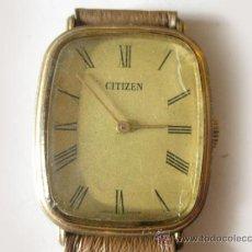 Relojes - Citizen: RELOJ CITIZEN DE MUJER CHAPADO EN ORO - AÑOS 50. Lote 36635877
