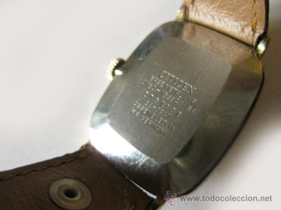 Relojes - Citizen: RELOJ CITIZEN DE MUJER CHAPADO EN ORO - AÑOS 50 - Foto 3 - 36635877