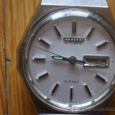 Relojes - Citizen: RELOJ CITIZEN , 21 JEWELS, FUNCIONANDO. Lote 37599073
