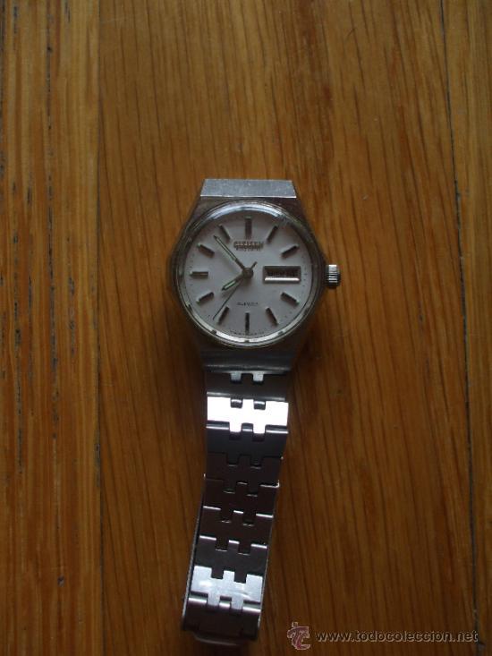 Relojes - Citizen: RELOJ CITIZEN , 21 JEWELS, Funcionando - Foto 4 - 37599073