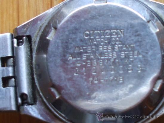 Relojes - Citizen: RELOJ CITIZEN , 21 JEWELS, Funcionando - Foto 2 - 37599073