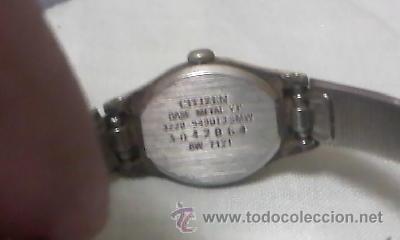 Relojes - Citizen: Antiguo reloj de señora CITIZEN SEVEN,Dorado.Vintage - Foto 3 - 40151846