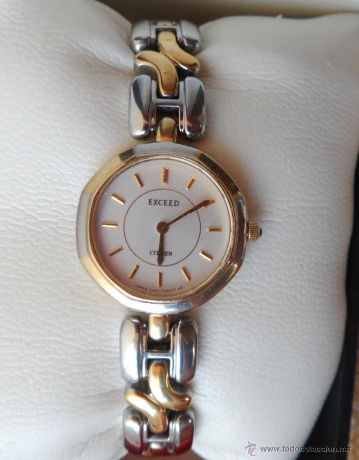 citizen exceed reloj de mujer a79109e2e114