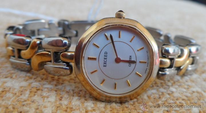 Relojes - Citizen: Citizen Exceed Reloj de mujer, Correa de acero inoxidable doble tonalidad, Batería y cristal nuevos - Foto 3 - 42675114