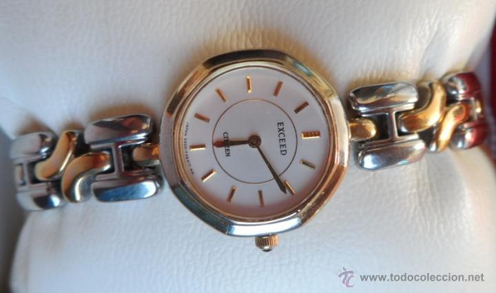Relojes - Citizen: Citizen Exceed Reloj de mujer, Correa de acero inoxidable doble tonalidad, Batería y cristal nuevos - Foto 5 - 42675114