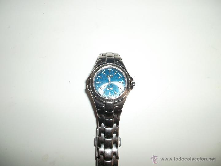 BONITO RELOJ FUNCIONANDO CITIZEN DE CHICA DE ACERO (Relojes - Relojes Actuales - Citizen)