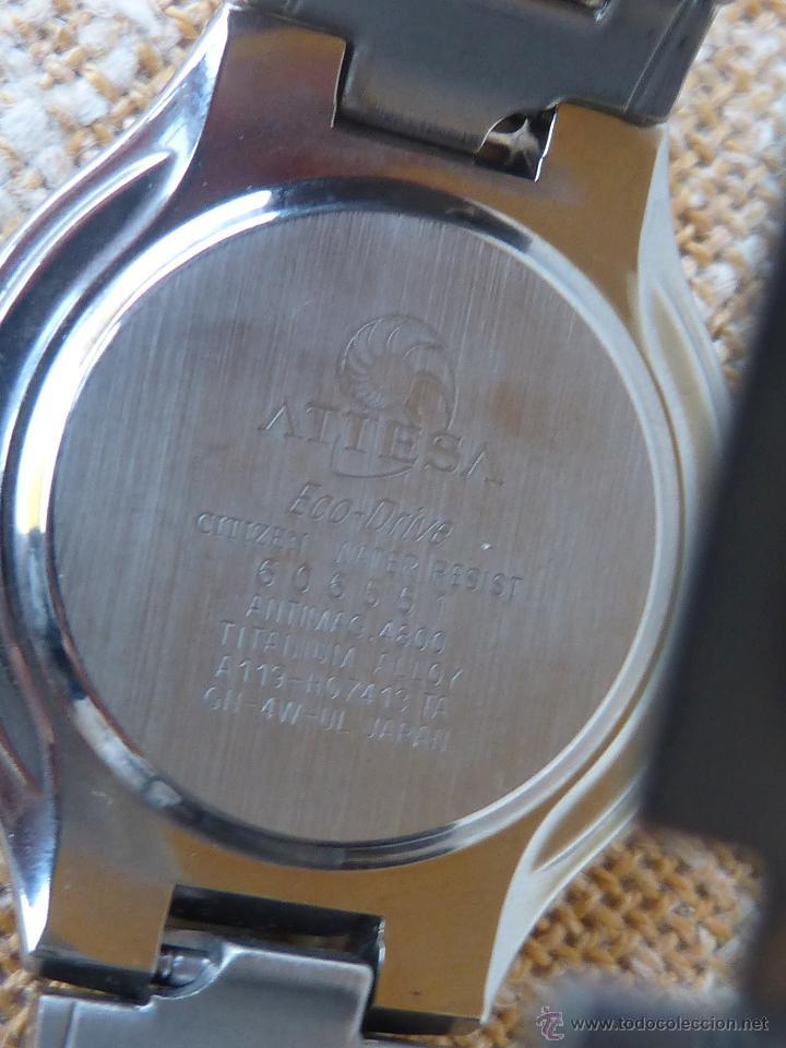 Relojes - Citizen: CITIZEN ATTESA Reloj para hombre, Quartz, Alimentado por energía solar - Foto 6 - 42397526